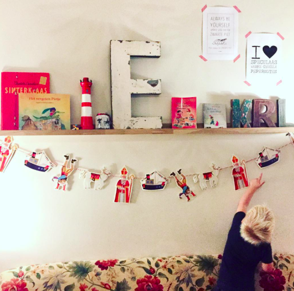 Sinterklaasfeest thuis
