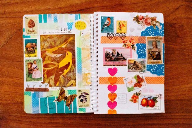 Art journal zelf maken