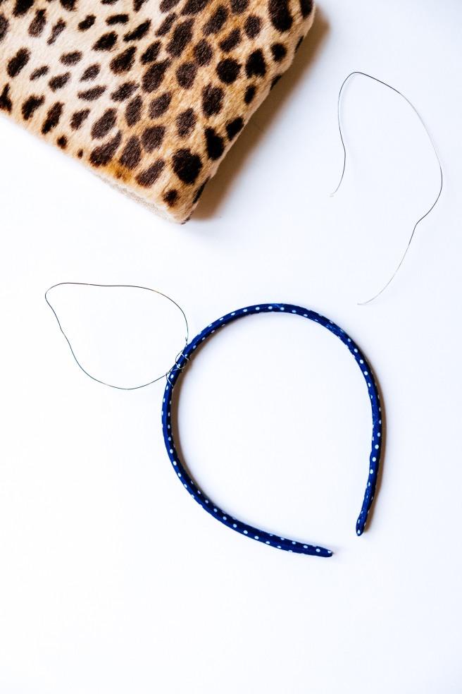 Haarband met ijzerdraad