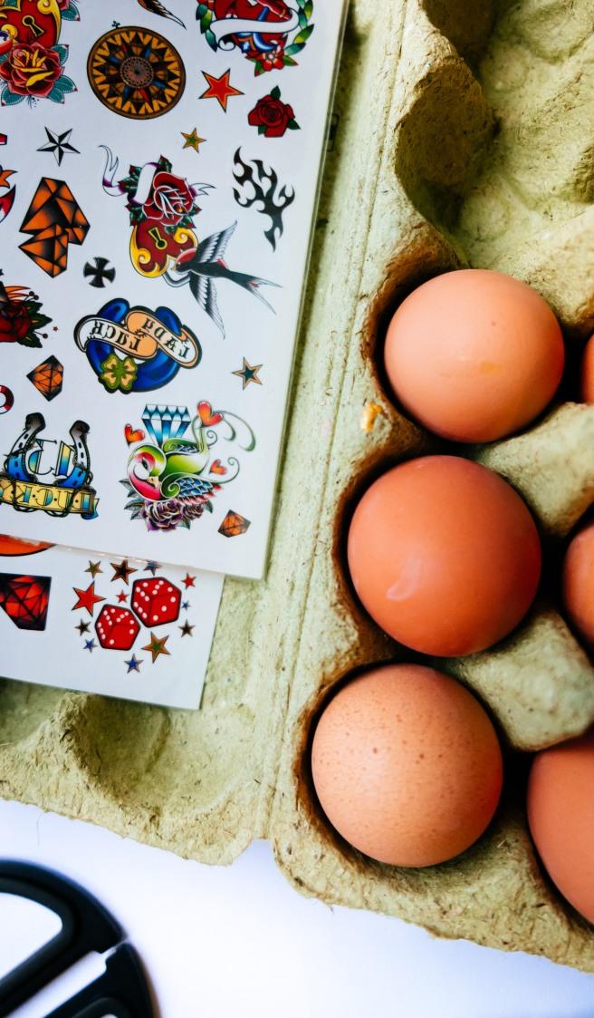 Tattoo eieren
