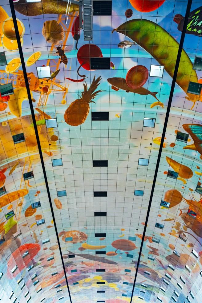 Plafond markthal
