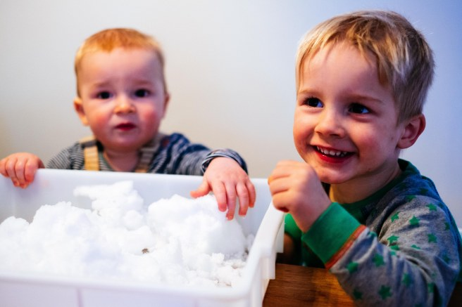 Sneeuw activiteit