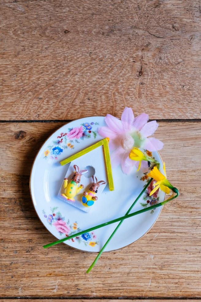 Bordje voor Pasen
