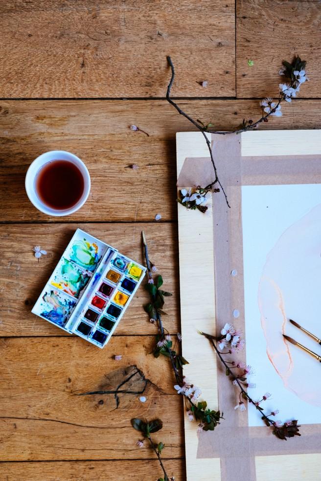 schilderen met pasen