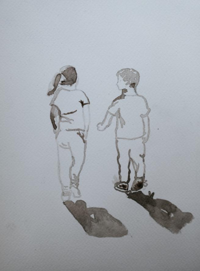 tekening van inkt
