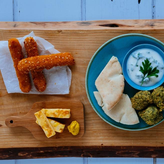 food foto borrelhapjes